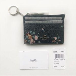 COACH | Midnight Keychain Wallet NWT